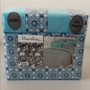 King Size 6 Piece Sheet Set